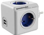 el-zap-elektromaterijal-powercube usb plavi