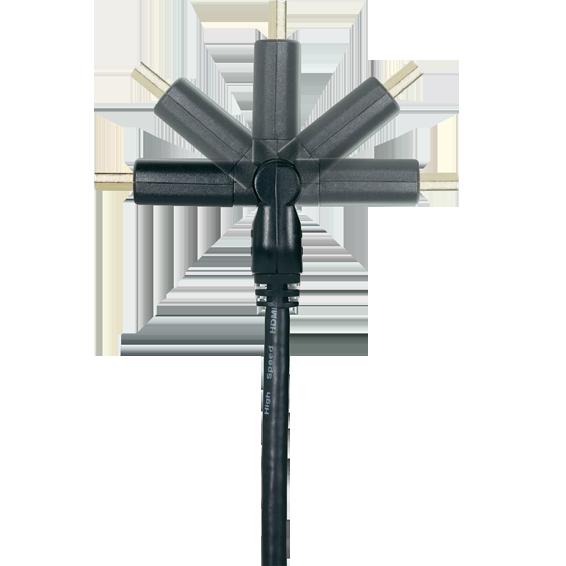 el-zap-elektromaterijal HDMI kabel dužina 1,8 met, ver.1.4, 4K, 3D, HEC, HDCP, ARC 3